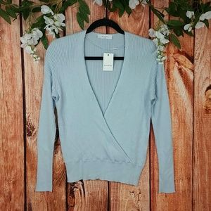🌞 NWT Elodie Wrap Top Sweater